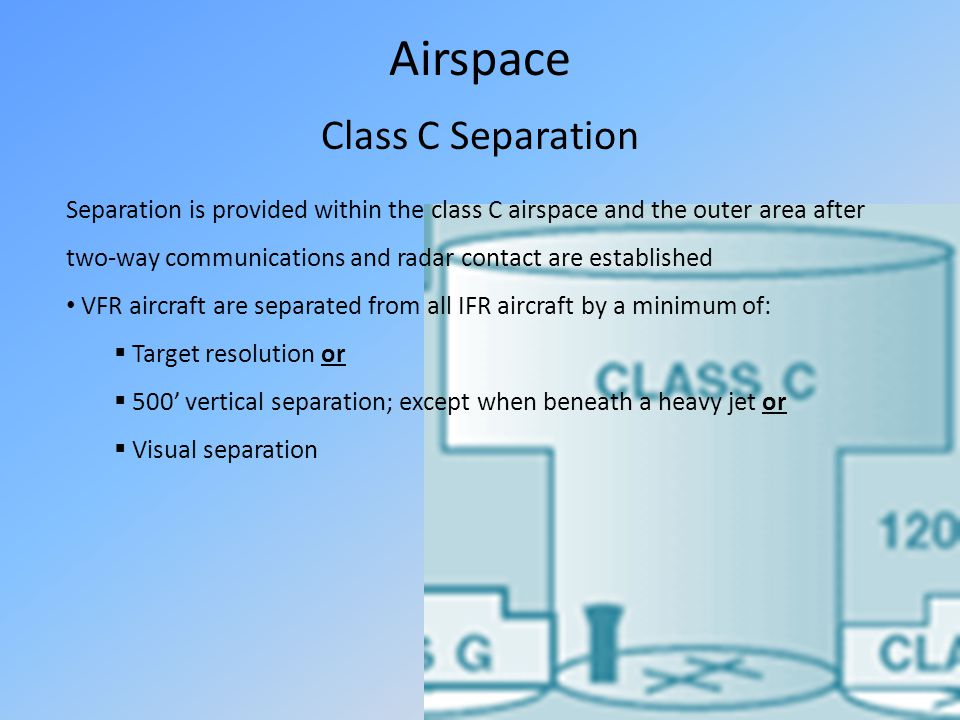 Airspace Class C Separation