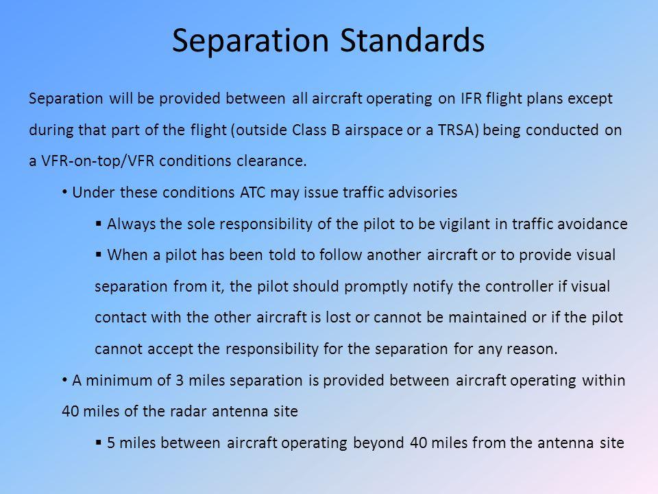 Separation Standards