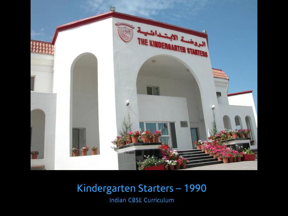 Kindergarten Starters – 1990