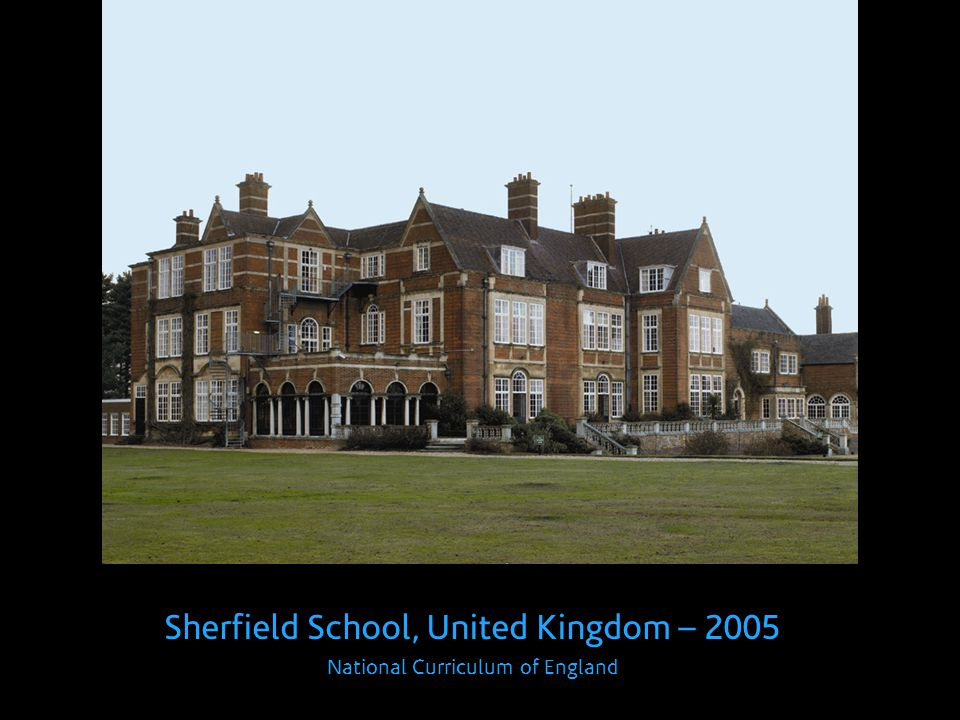 Sherfield School, United Kingdom – 2005