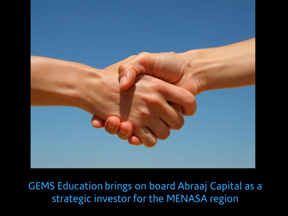 GEMS Education brings on board Abraaj Capital as a strategic investor for the MENASA region