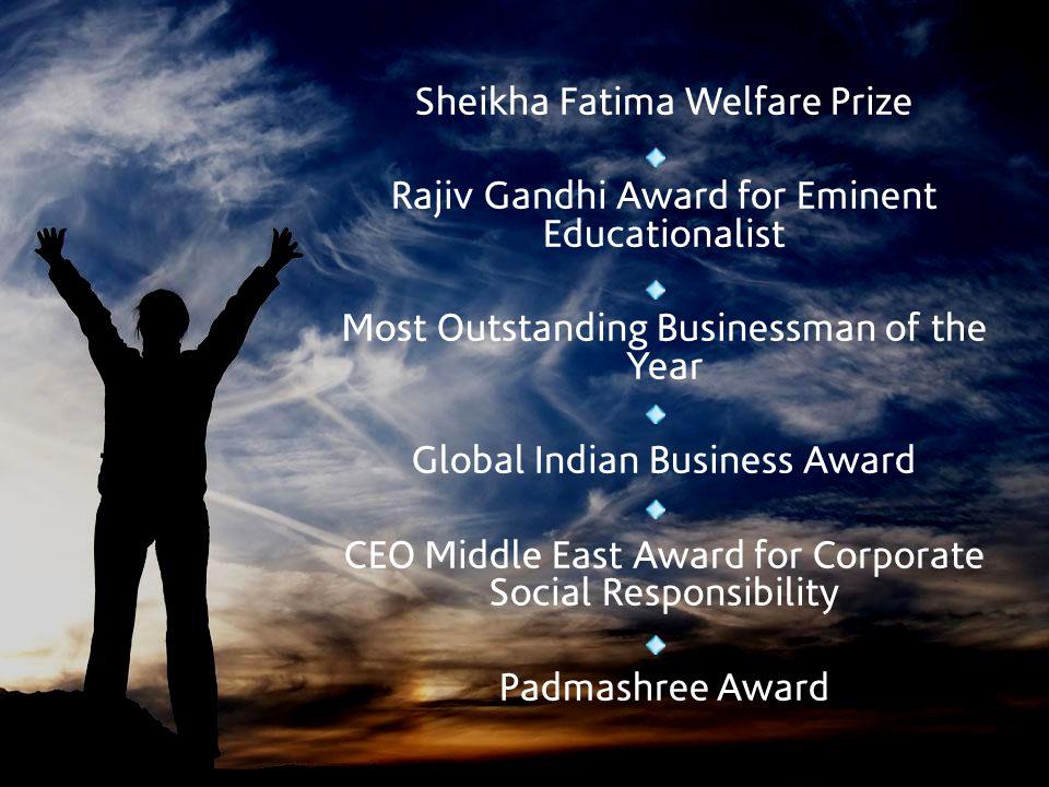 Sheikha Fatima Welfare Prize