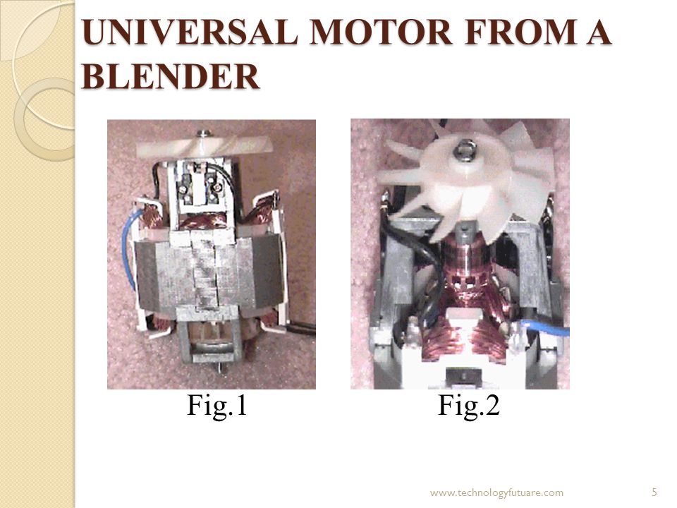 UNIVERSAL MOTOR FROM A BLENDER