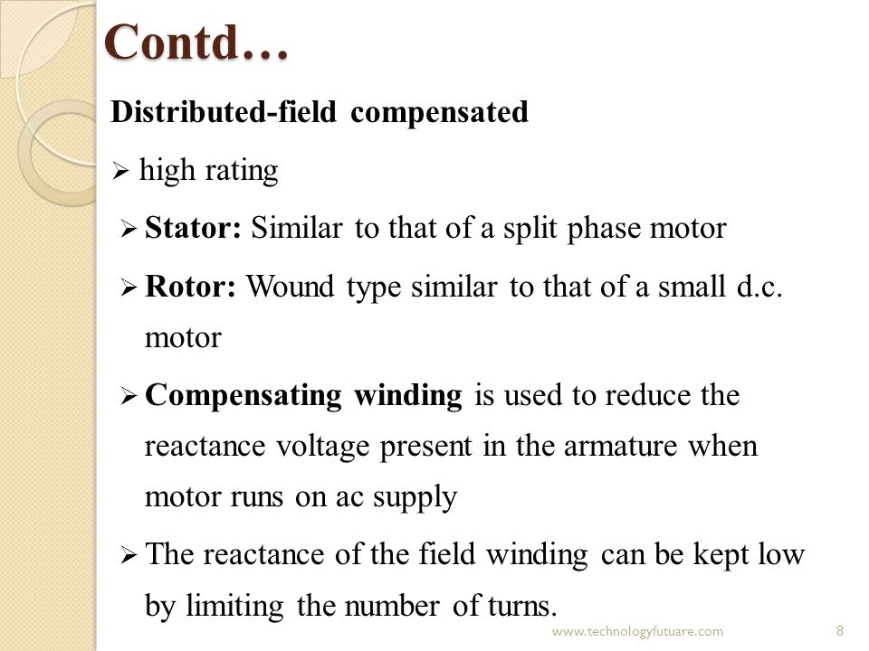 Contd… Distributed-field compensated high rating