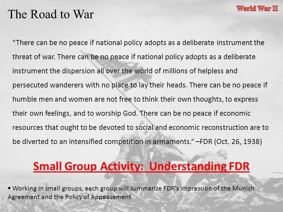 Small Group Activity: Understanding FDR