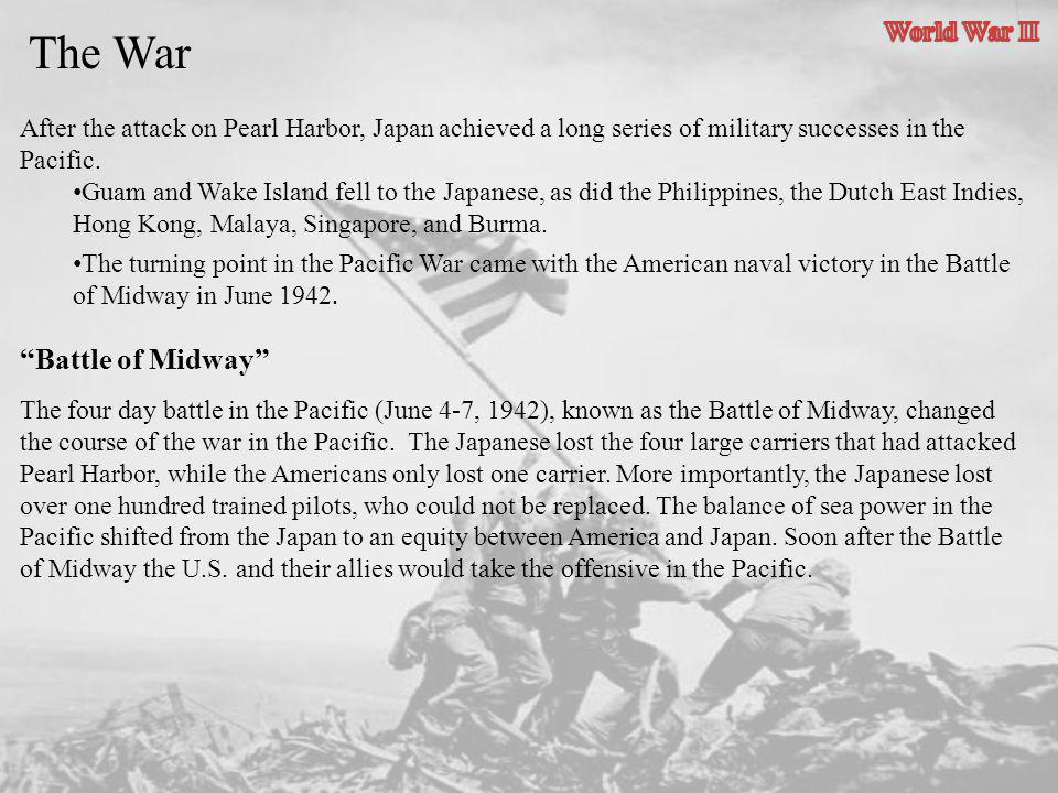 The War Battle of Midway World War II