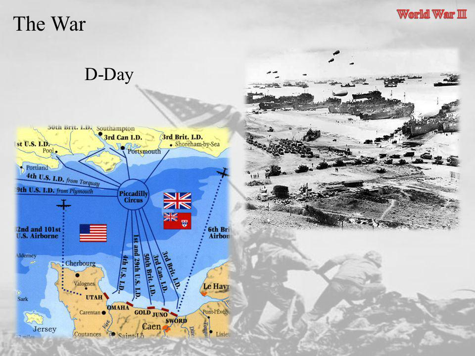 World War II The War D-Day