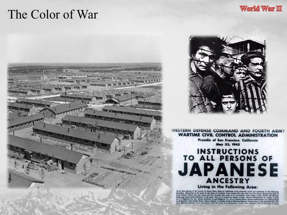 World War II The Color of War