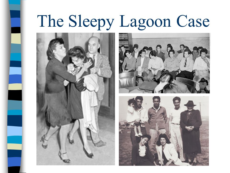 The Sleepy Lagoon Case Audio explains all images.