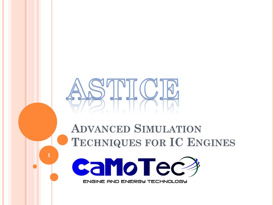 Advanced Simulation Techniques for IC Engines