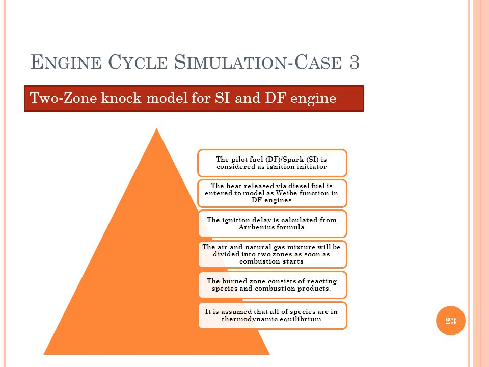 Engine Cycle Simulation-Case 3