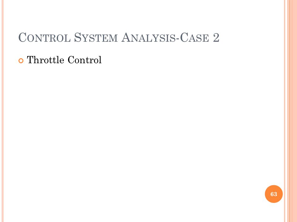 Control System Analysis-Case 2