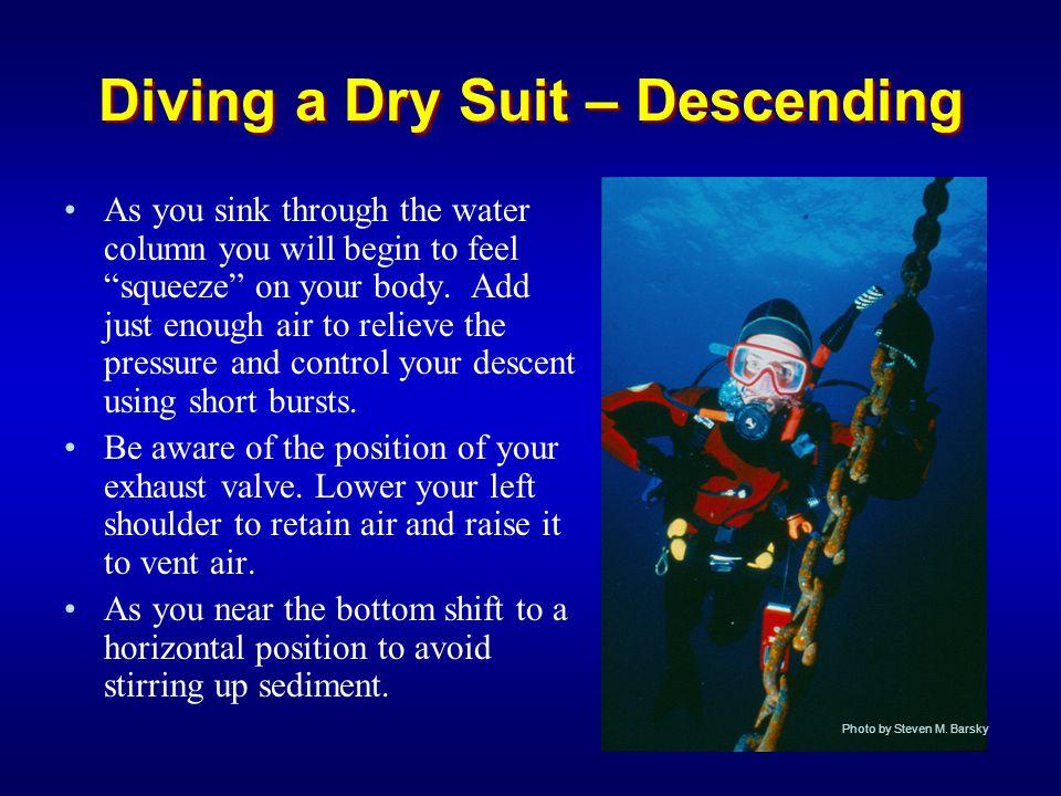 Diving a Dry Suit – Descending