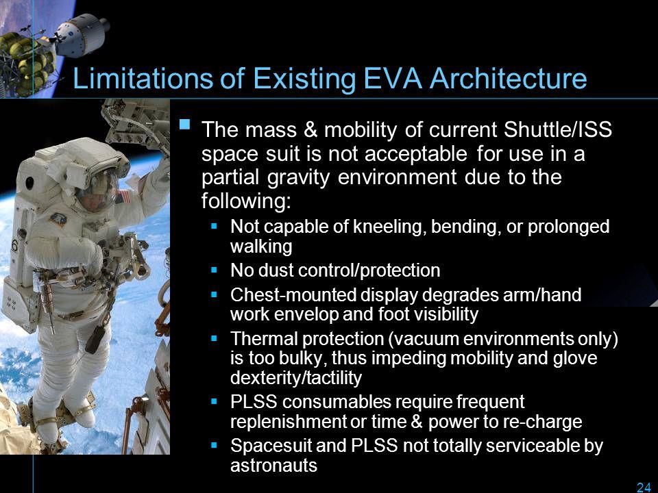 Limitations of Existing EVA Architecture