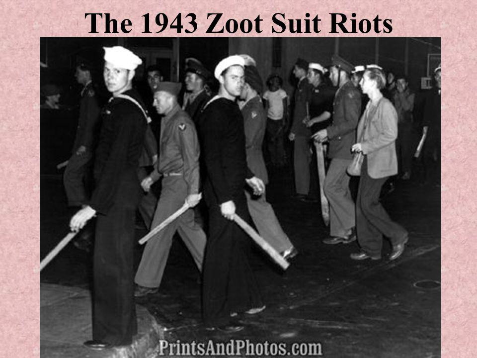 The 1943 Zoot Suit Riots