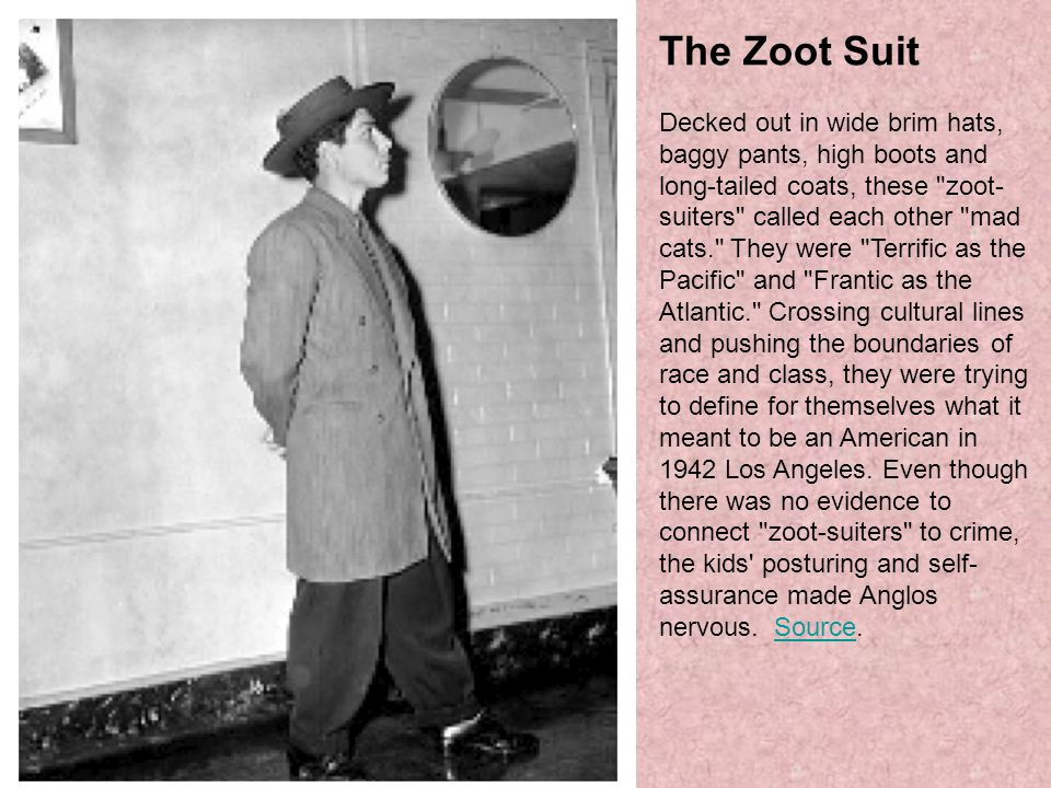 The Zoot Suit