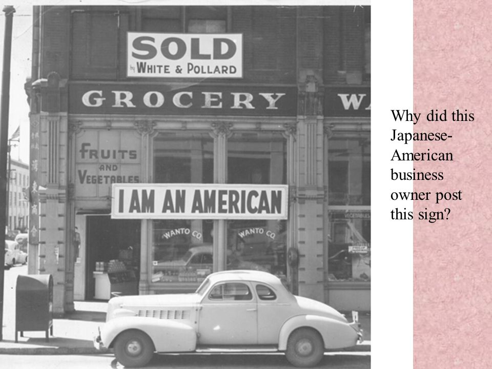Why did this Japanese- American business owner post this sign