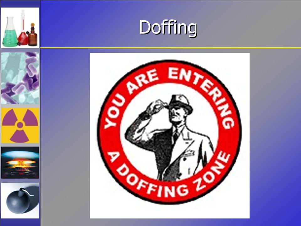 Doffing