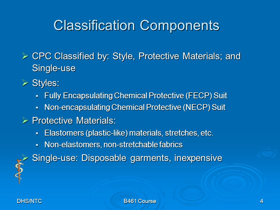 Classification Components