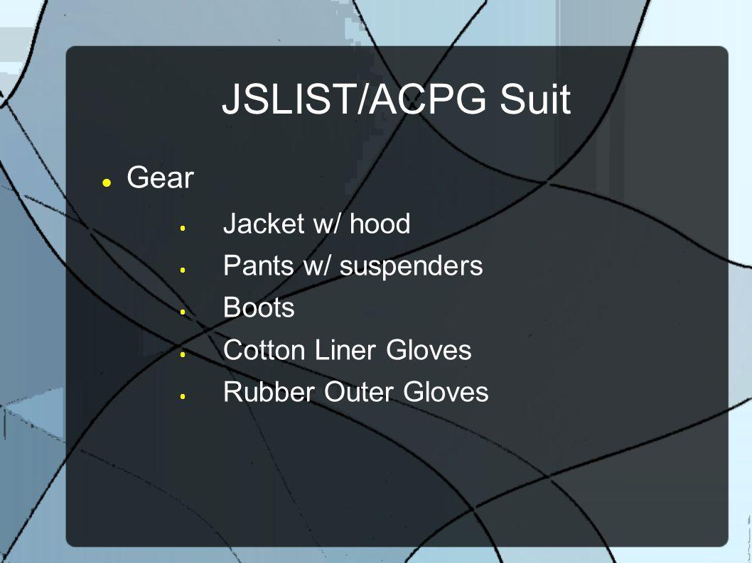 JSLIST/ACPG Suit Gear Jacket w/ hood Pants w/ suspenders Boots