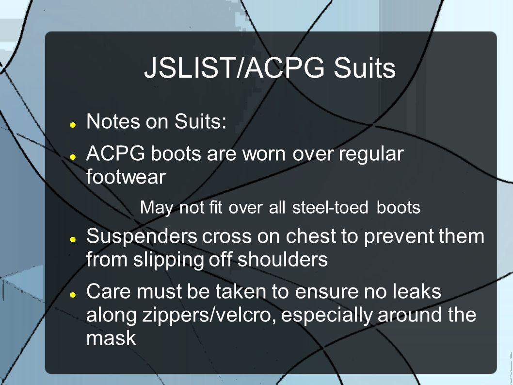 JSLIST/ACPG Suits Notes on Suits: