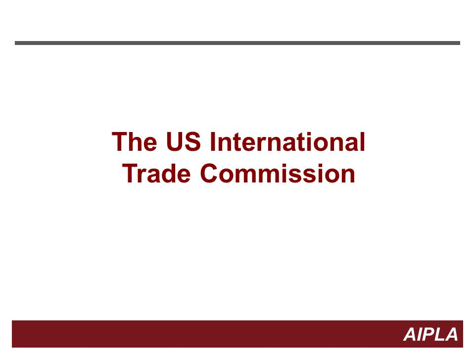 The US International Trade Commission