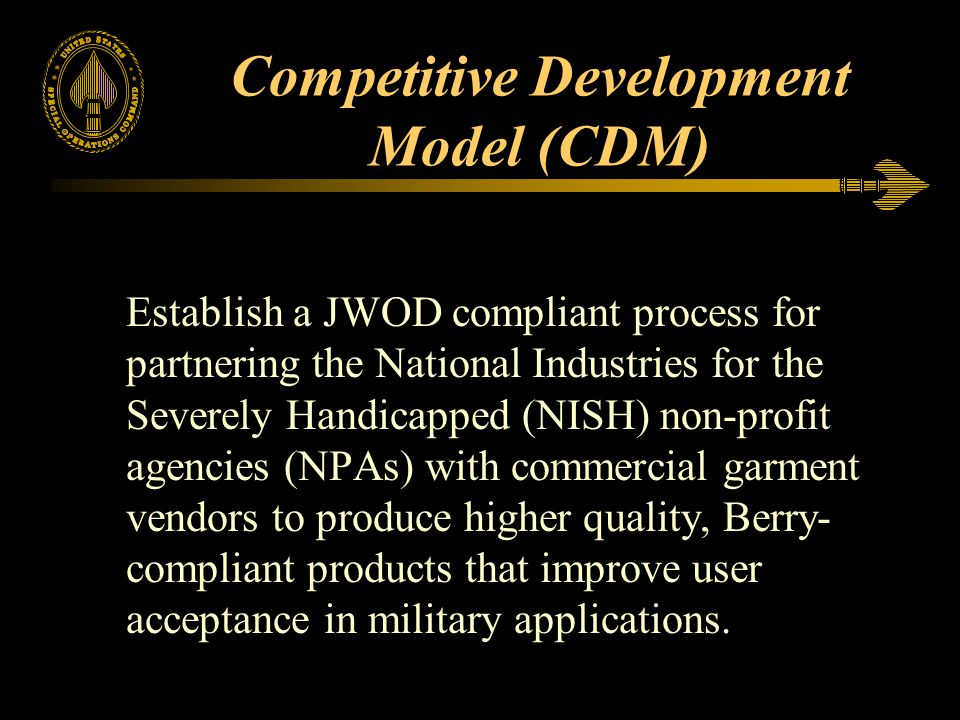 Competitive Development Model (CDM)