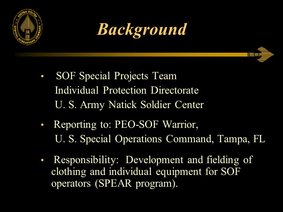 Background Individual Protection Directorate