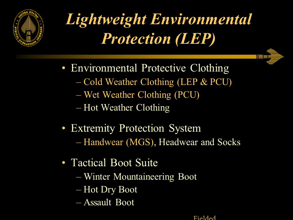 Lightweight Environmental Protection (LEP)