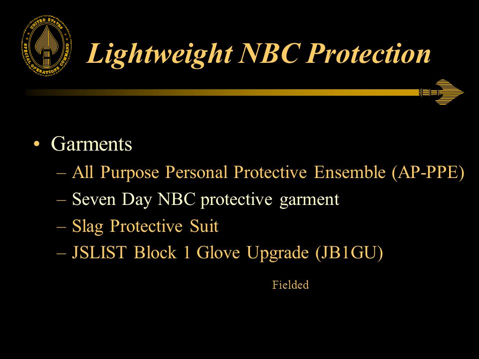 Lightweight NBC Protection