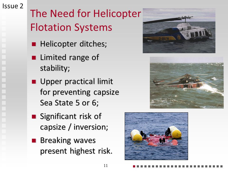 The Need for Helicopter Flotation Systems