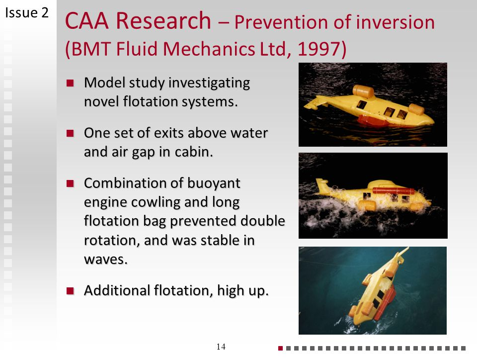 CAA Research – Prevention of inversion (BMT Fluid Mechanics Ltd, 1997)