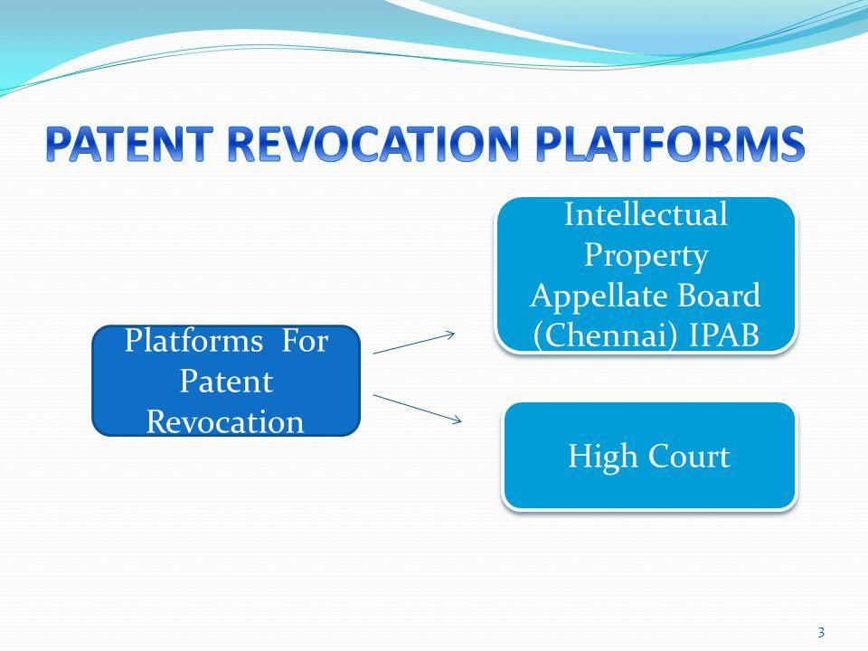 PATENT REVOCATION PLATFORMS