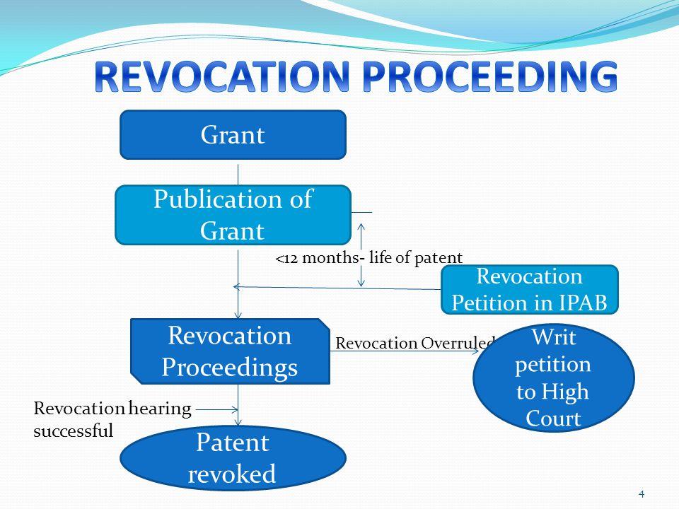 REVOCATION PROCEEDING