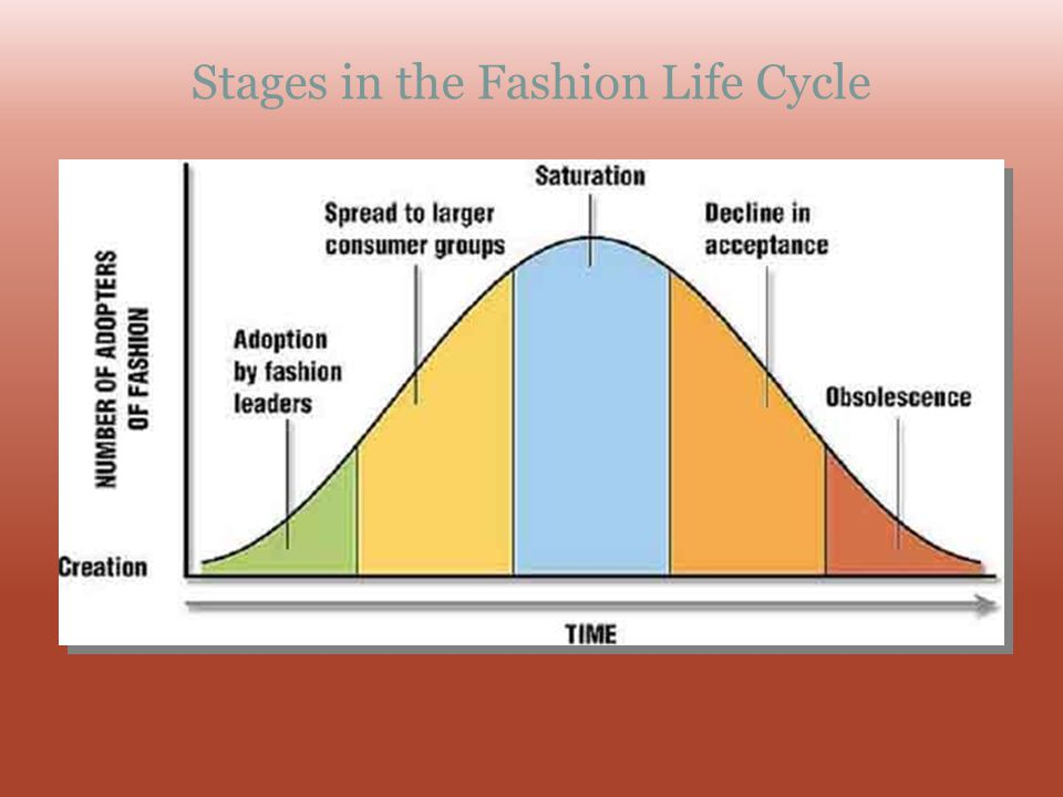 Stages in the Fashion Life Cycle