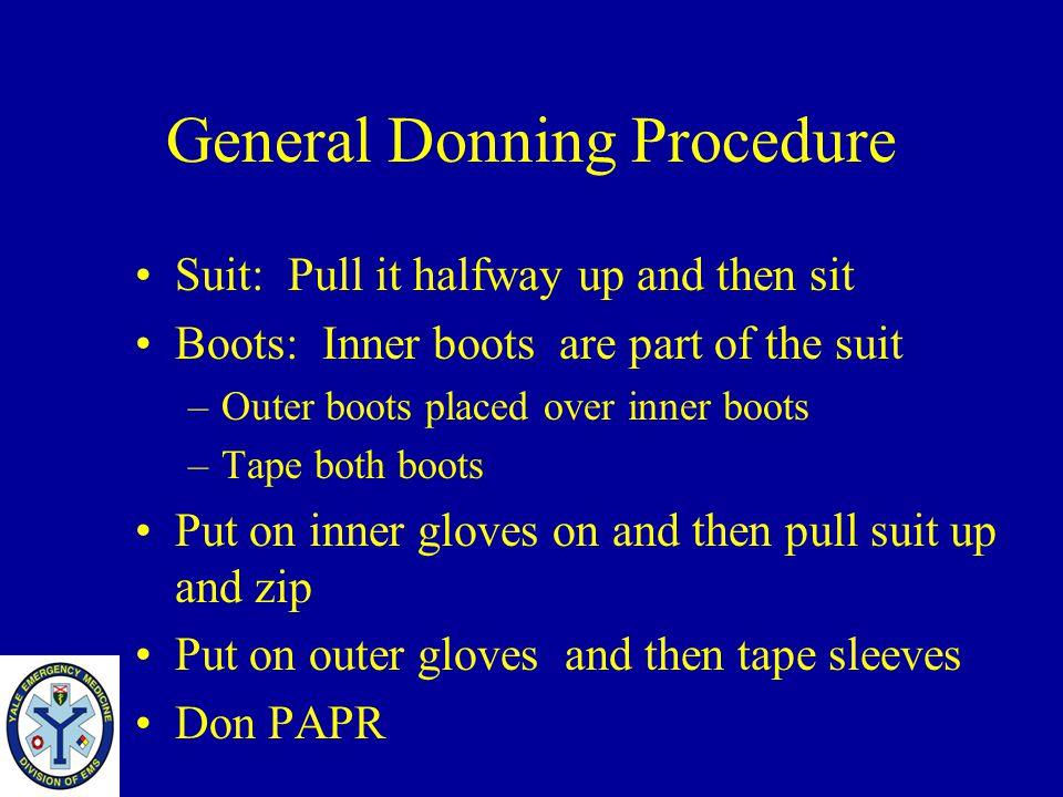 General Donning Procedure