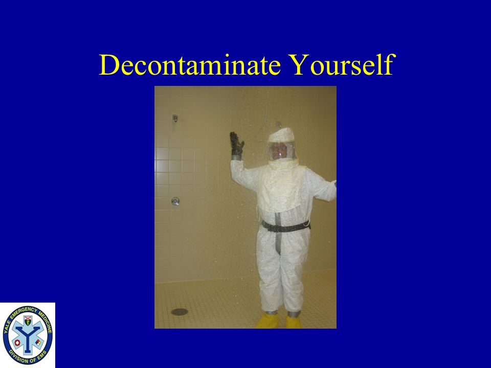 Decontaminate Yourself