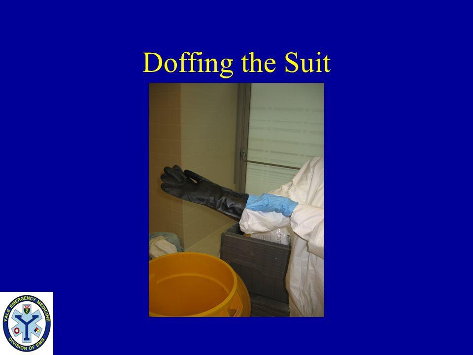 Doffing the Suit