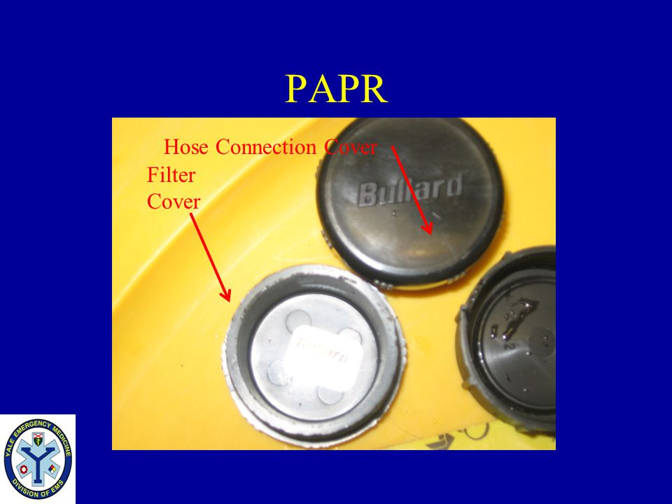 PAPR Hose Connection Cover Filter Cover