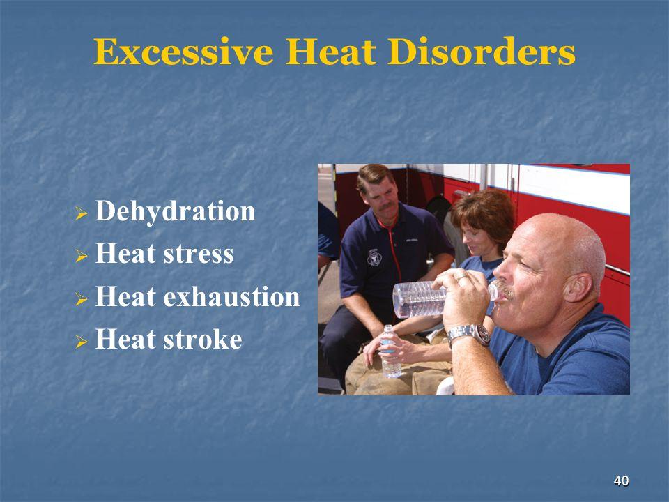Excessive Heat Disorders