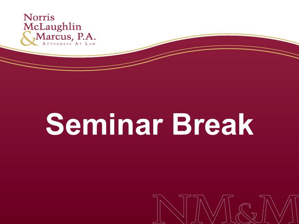 Seminar Break