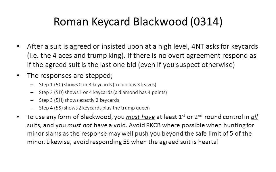 Roman Keycard Blackwood (0314)