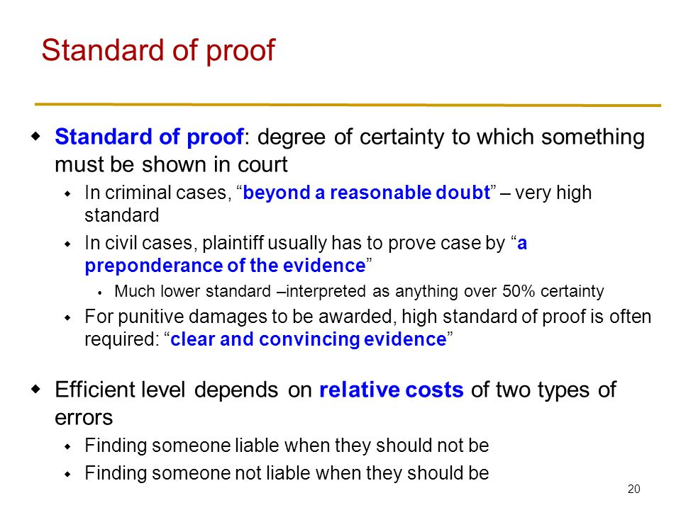 Rules of evidence Rules for what evidence court can pay attention to