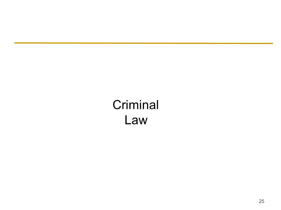 Criminal law differs from civil law in several ways