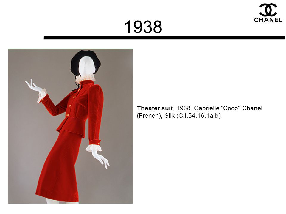 1938 Theater suit, 1938, Gabrielle Coco Chanel (French), Silk (C.I.54.16.1a,b)