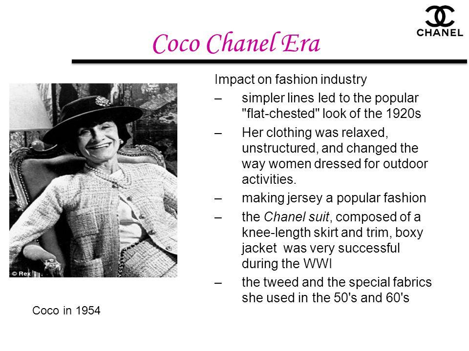 Coco Chanel Era Impact on fashion industry