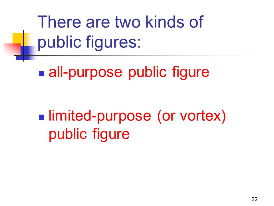 There are two kinds of public figures:
