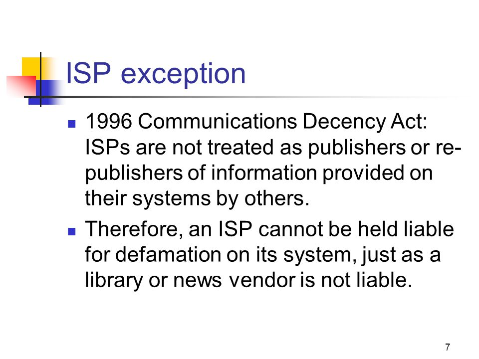 JOMC 164, Section 2 ISP exception.