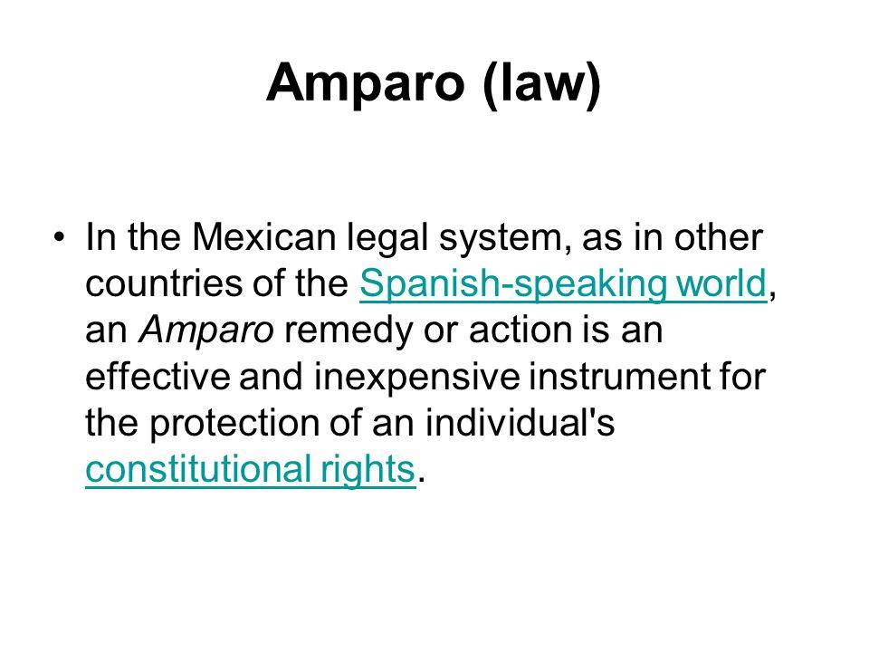 Amparo (law)