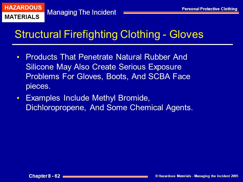 Structural Firefighting Clothing - Gloves